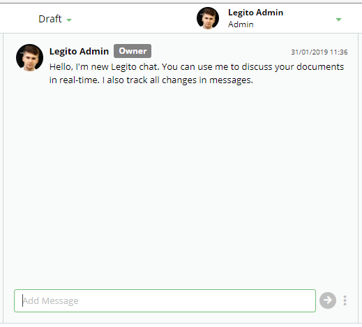 New Legito Update - real time chat