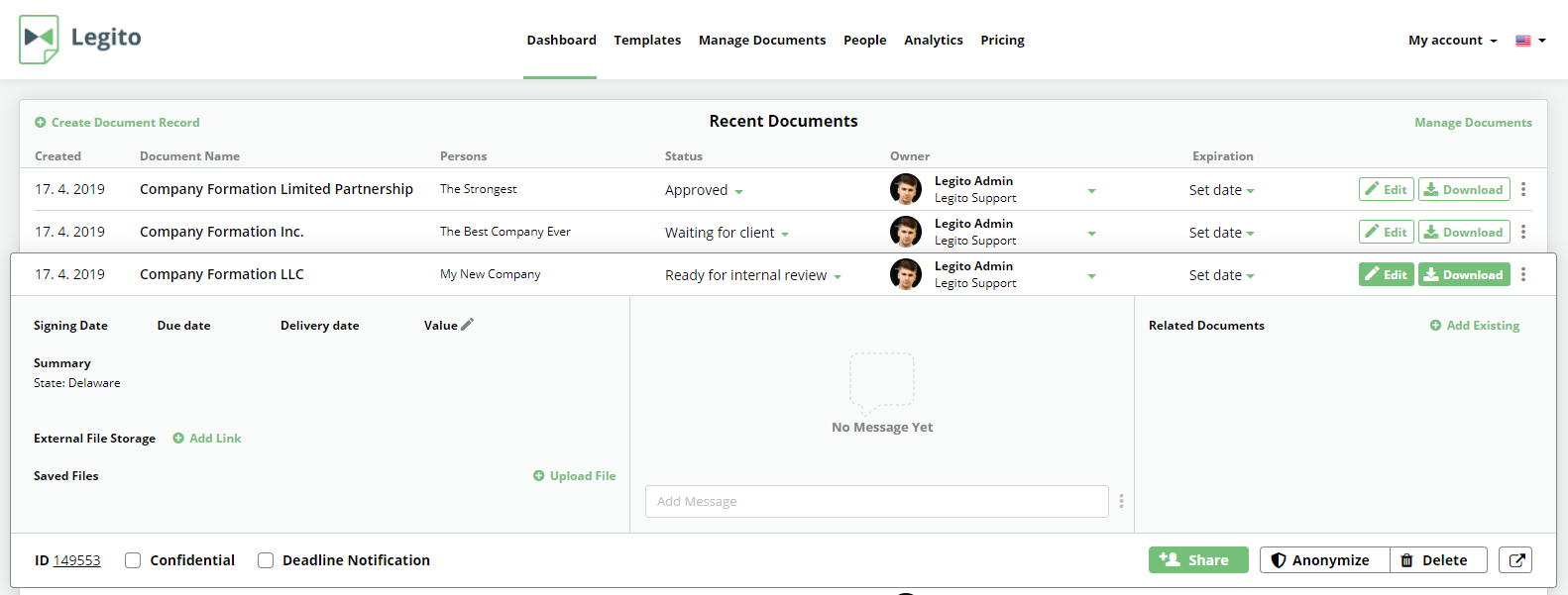 Use Legito For Repetitive Collaboration With Your Clients