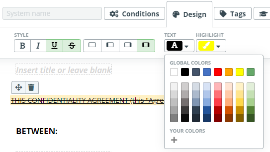May 2020 Release: Centralized Document Layouts & Styles Management