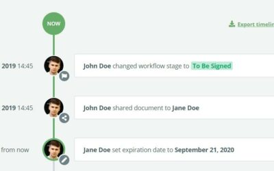 July 2020 Release: Document Timeline, Automated Workflows, Guest Permissions, Enhanced Styles
