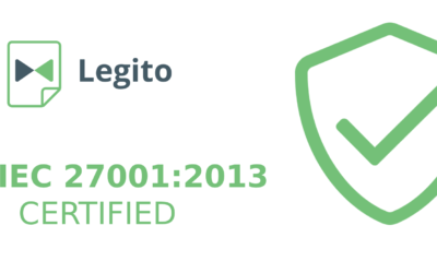Our ISO/IEC 27001 certificate has arrived!